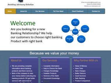 Bank Advisory Solution