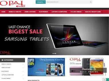 Online Electronic Store :: Opal eWorld