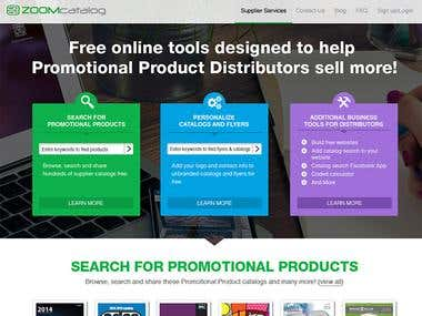 Zoomcatalog Product Distributors Page