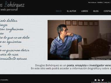 Douglas Bohorquez website