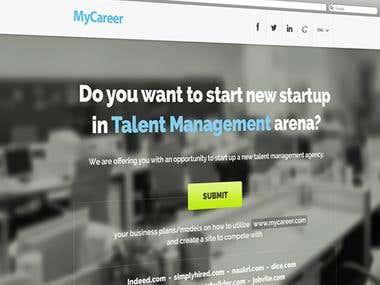 MyCareer - Kickstarter Job Portal