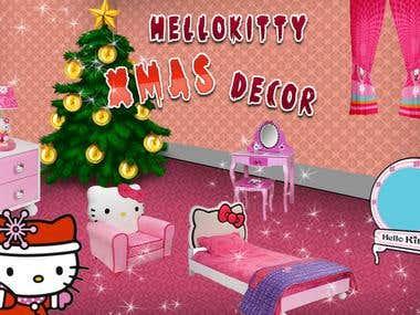 Hello Kitty Xmas Decor