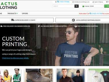Cactus Clothing - Magento Store for clothings