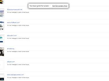 Google Blacklist Removal of Sites