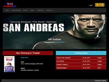 Cinema PK cinema online booking Website + Mobile Application