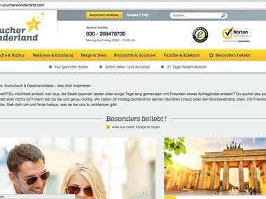 Shopware / eCommerce - Umsetzung nach PSD