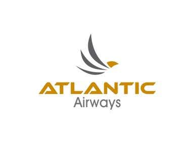 ATLANTIC Airways Logo