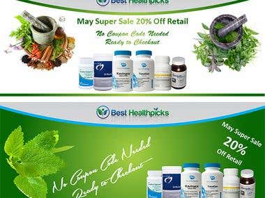 Best Healthpicks Banners