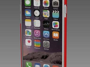 I Phone 6 Case for 3d printing