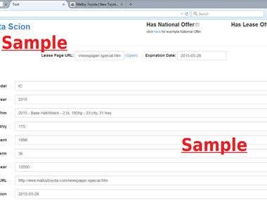 Collect data then Fill form Finally Upload data.
