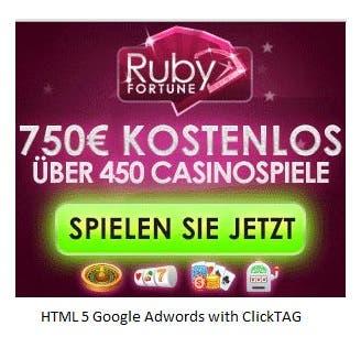 Google Adwords, HTML5, Google Web Designer, ClickTAG
