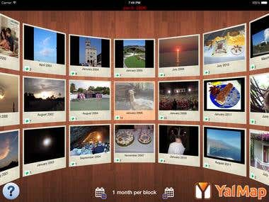 Yalmap - 3D media viewer App for iPad and iPhone