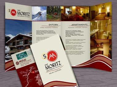St. Moritz Group promotional leaflet