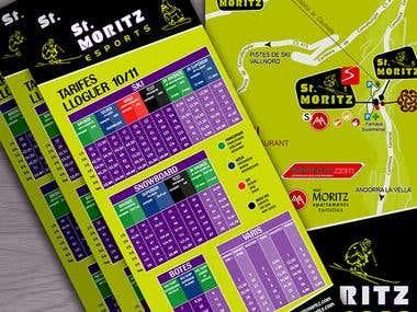 Esports St. Moritz promotional flyers