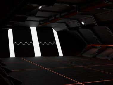 Space Ship Interior