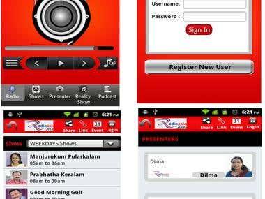 Radio asia android app