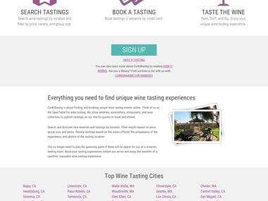 Wine Tasting Store and Booking System - www.CorkSharing.com