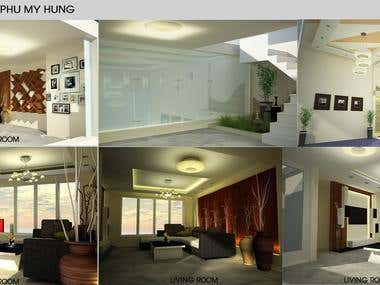 Interior Villa - Phu My Hung