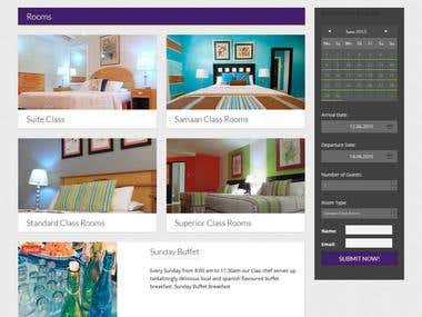 Wordpress Theme Integrate For Hotel