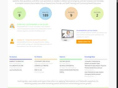 [Wordpress] Online healthcare website
