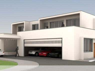 Design Concept for Contemporary Modern Villa, in Germany
