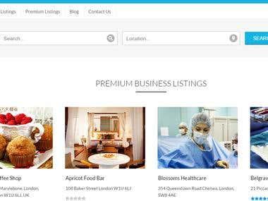 beautiful and responsive website