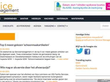 Service Management Site