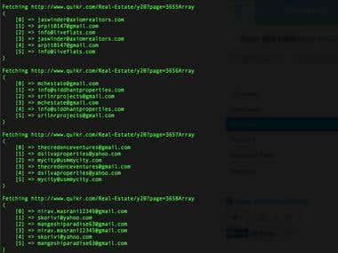 quikr.com email scraper