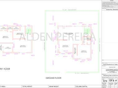 Conversion of PDF  Drawings to CAD Drawings
