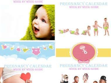 Pregnancy Calendar 1-40 weeks