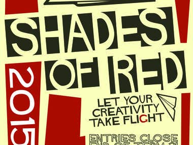 Shades of Red Poster