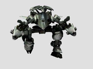 robot unity model