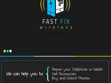 FastFix Wireless - Flyer