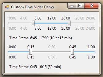 Time Slider