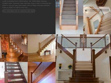 Website Design and Development for Modernise Your Stairs UK