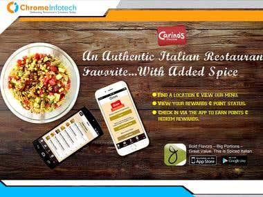 Restaurant App - Carino\'s