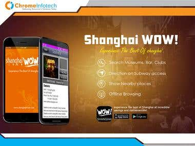 Location Based App - Shanghai Wow !