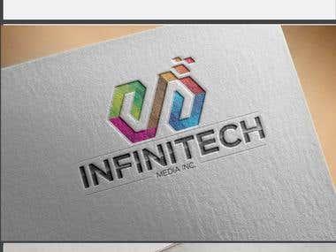Logo modification for \' InfiniTech\'
