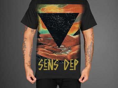 T-Shirt Design for Sens Dep