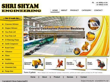 Building Equipment Website