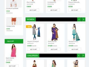 Online Garments Portal