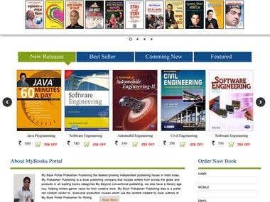Online Book Seller Portal