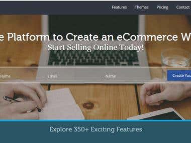 Hosted eCommerce Portal Development using PHP Framework