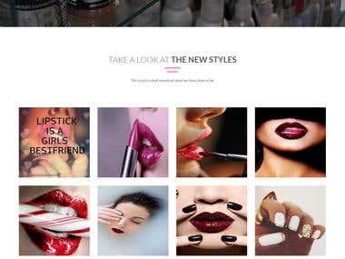 Revamp Romanza website www.iloveromanza.com