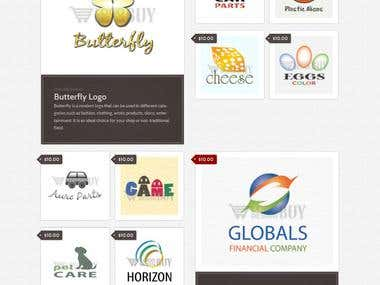 Logo eCommerce Website