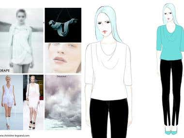 Commercial Fashion Illustration