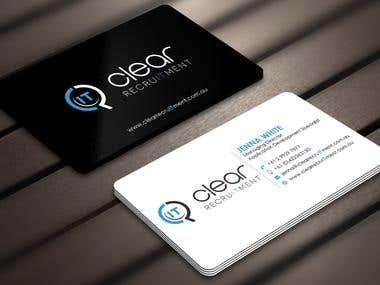 Recruitment Firm Business Card