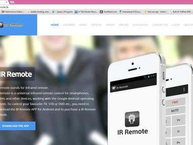 IRRemote Website