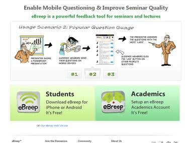 eBreep is a powerful feedback tool for seminars and lectures