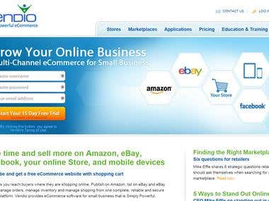 Posting Products in Amazon, eBay from Vendio